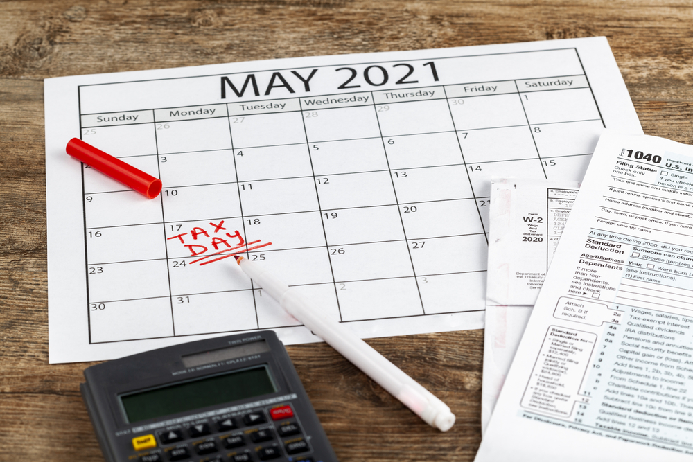 May tax filing deadline